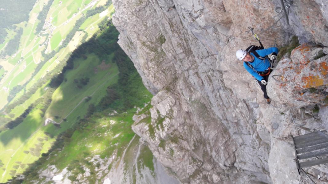 Klettersteig Wimmis : Klettersteige u cle rubliu d und cla cascadeu houptsach ufwärts