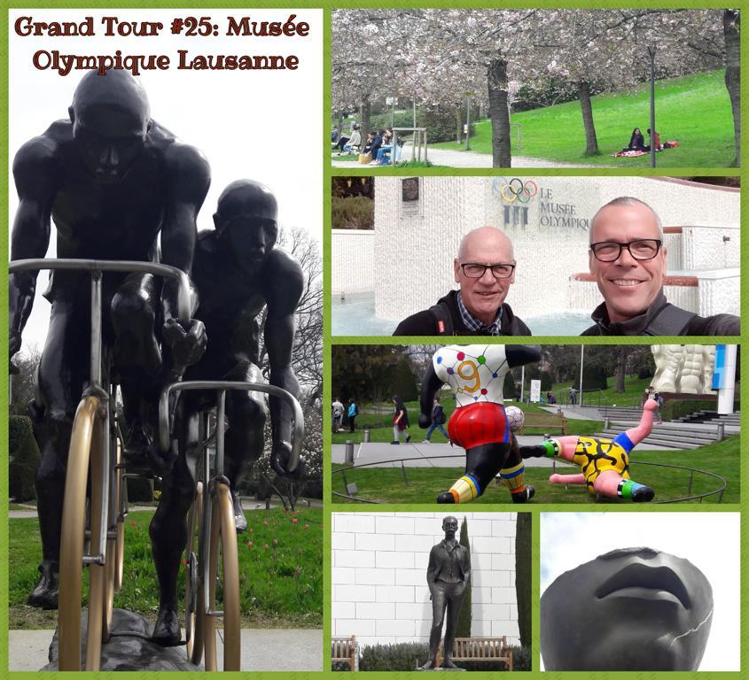 Grand Tour #25_ Musée Olympique Lausanne
