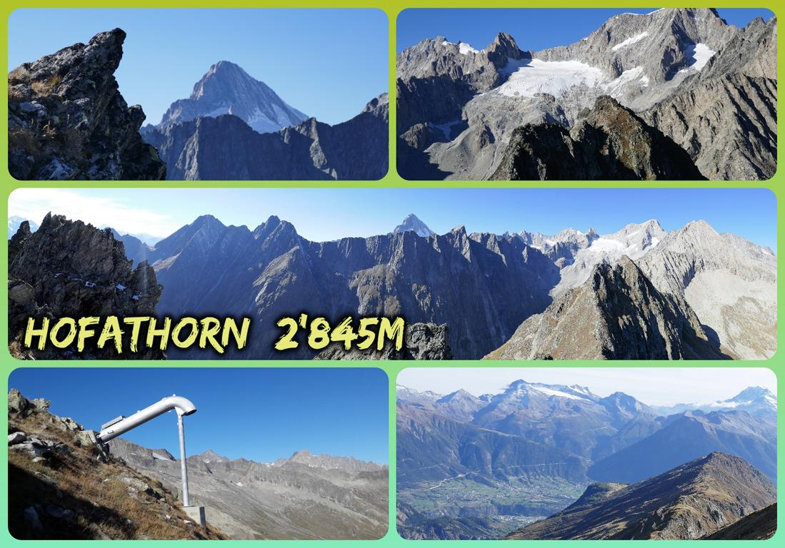 Hofathorn  2'845m