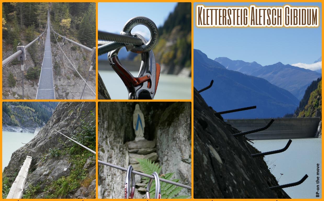 Klettersteig Aletsch Gibidum