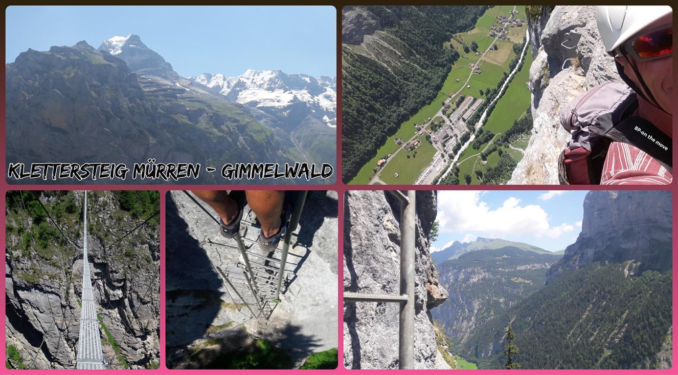 Klettersteig Mürren - Gimmelwald