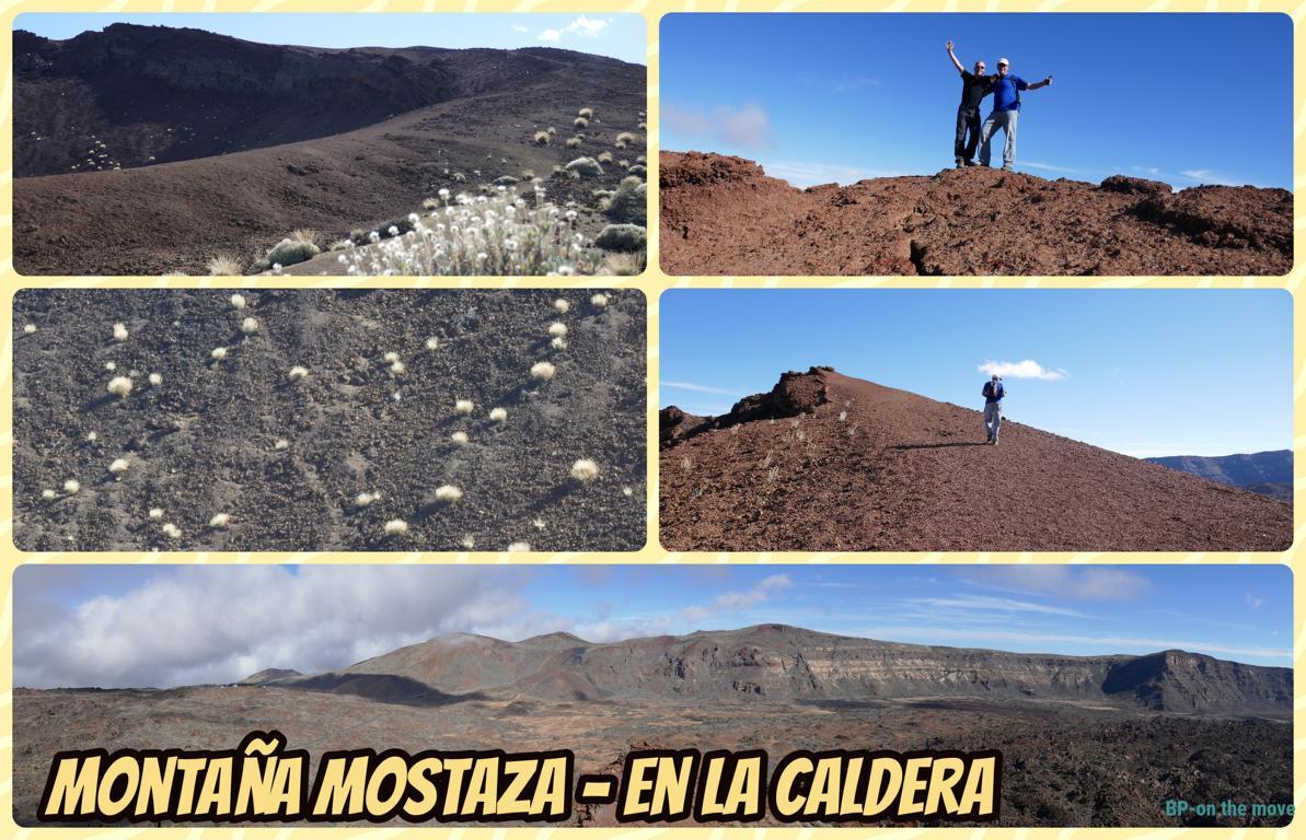 Montaña Mostaza - en La Caldera