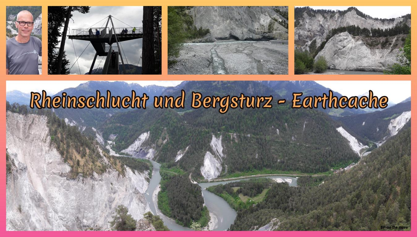 Rheinschlucht und Bergsturz - Earthcache