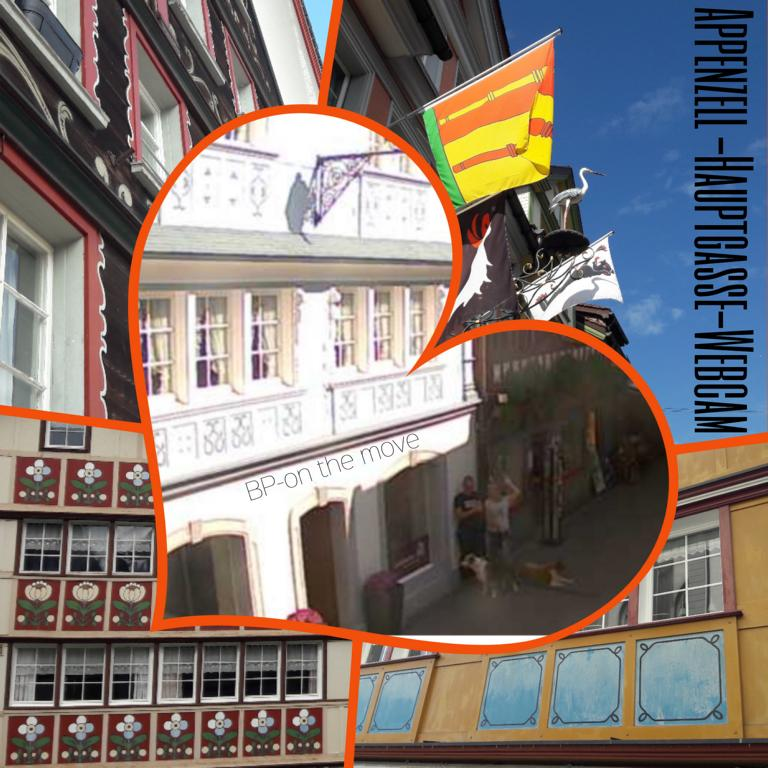 Appenzell -Hauptgasse-Webcam