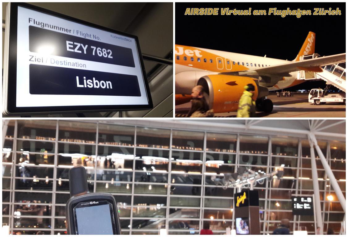 AIRSIDE Virtual am Flughafen Zürich