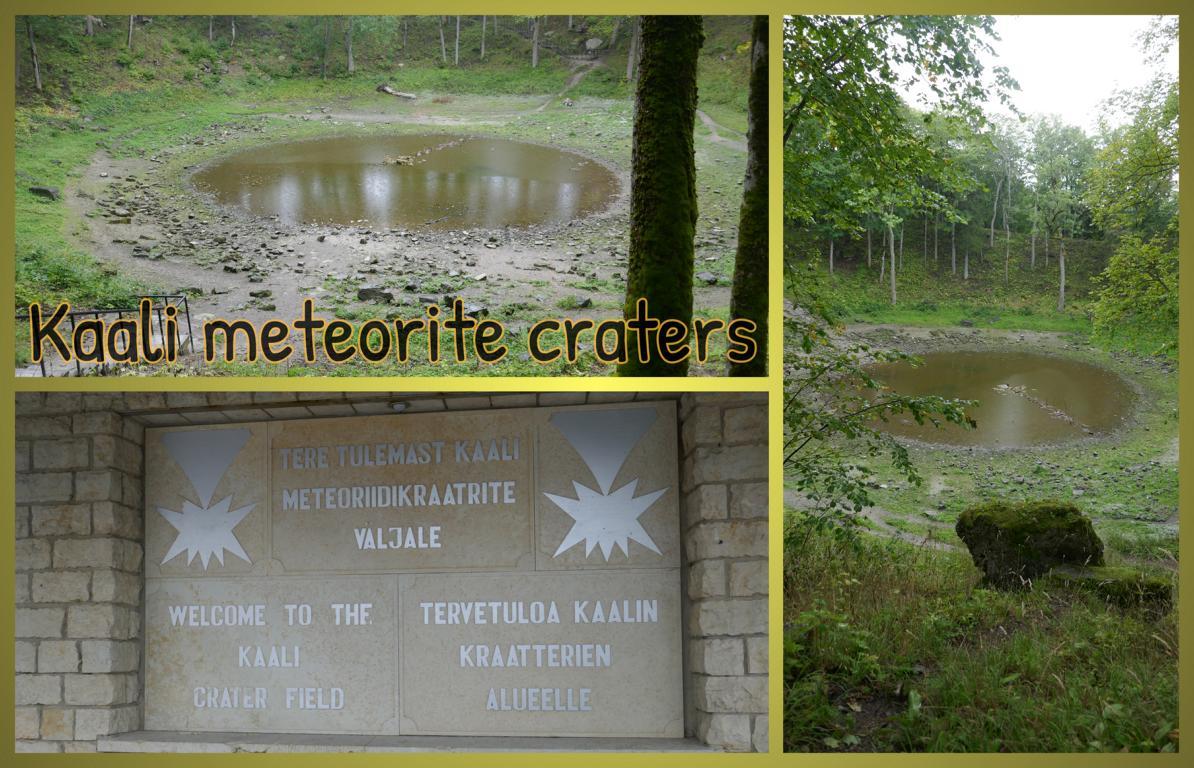 Kaali-meteorite-craters