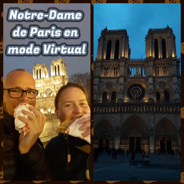 Notre-Dame de Paris en mode Virtual