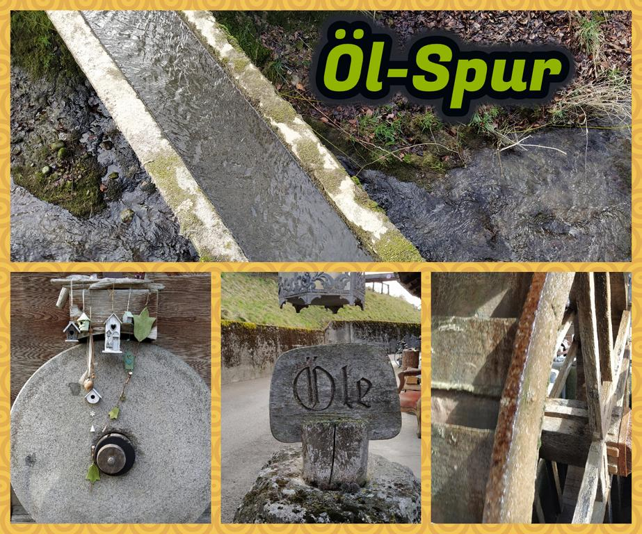 Öl-Spur