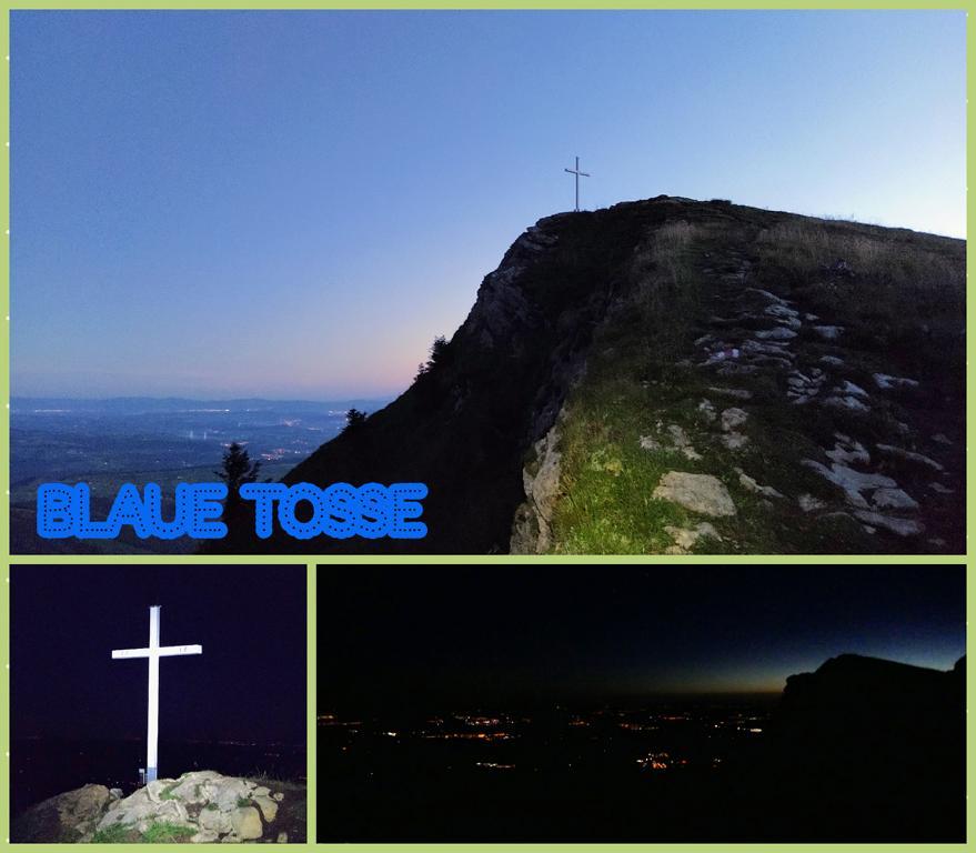 Blaue-Tosse