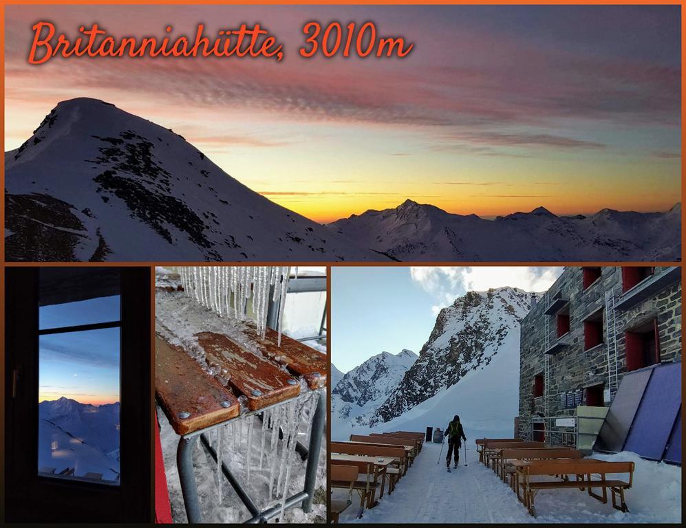 Britanniahütte-3010m