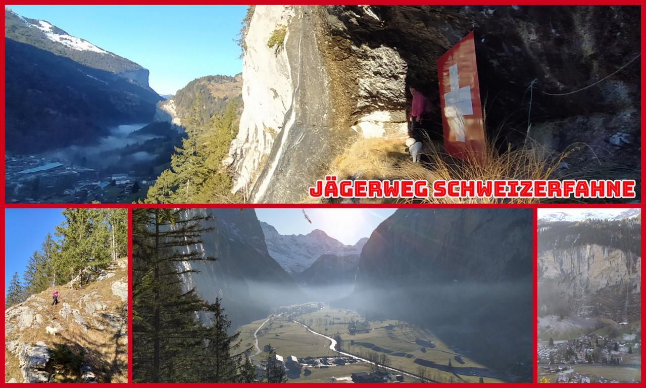Jägerweg-Schweizerfahne