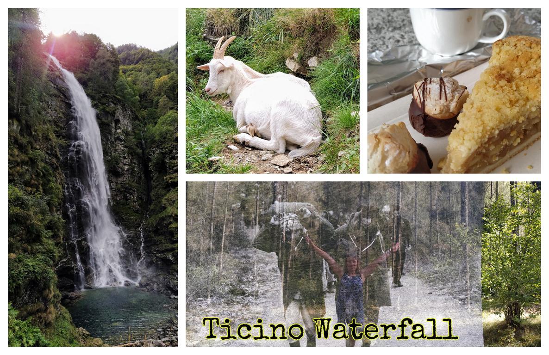 Ticino-Waterfall