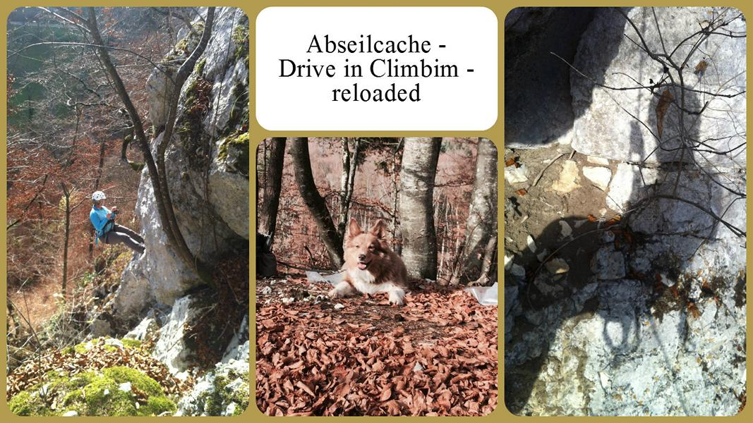 Abseilcache - Drive in Climbim - reloaded