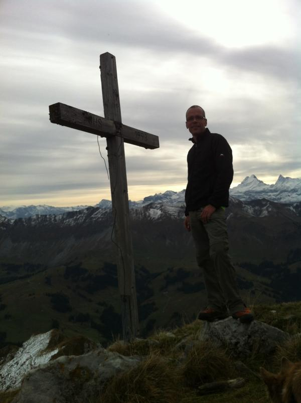 Das obligate Gipfelkreuzbild