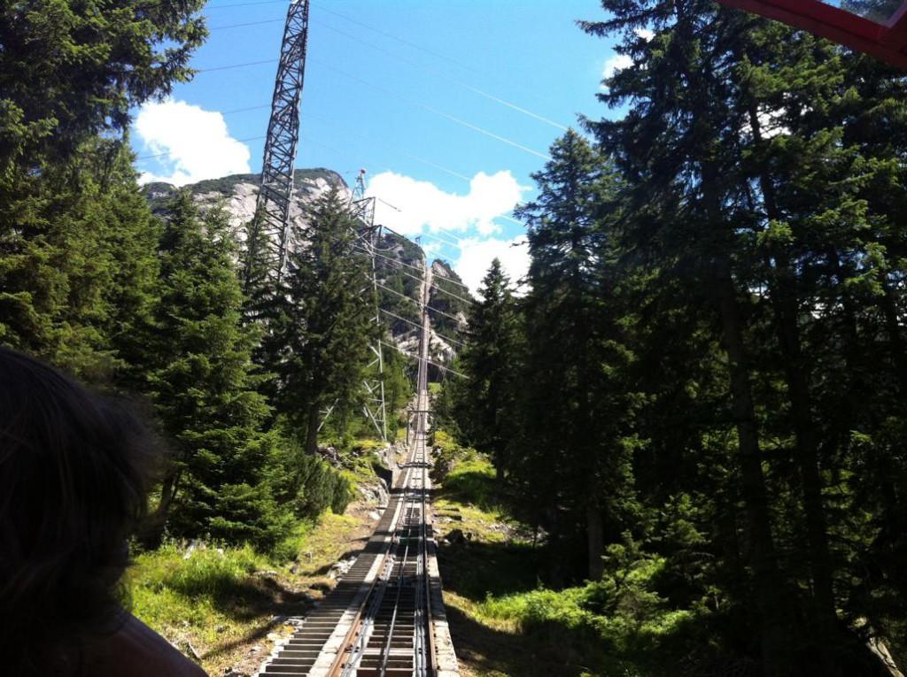 Die steile Gelmerbahn