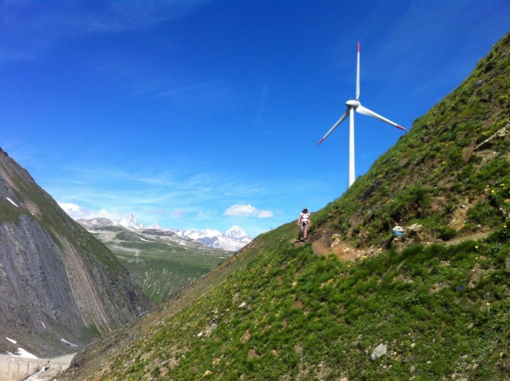 Windenergie auf fast 2500m