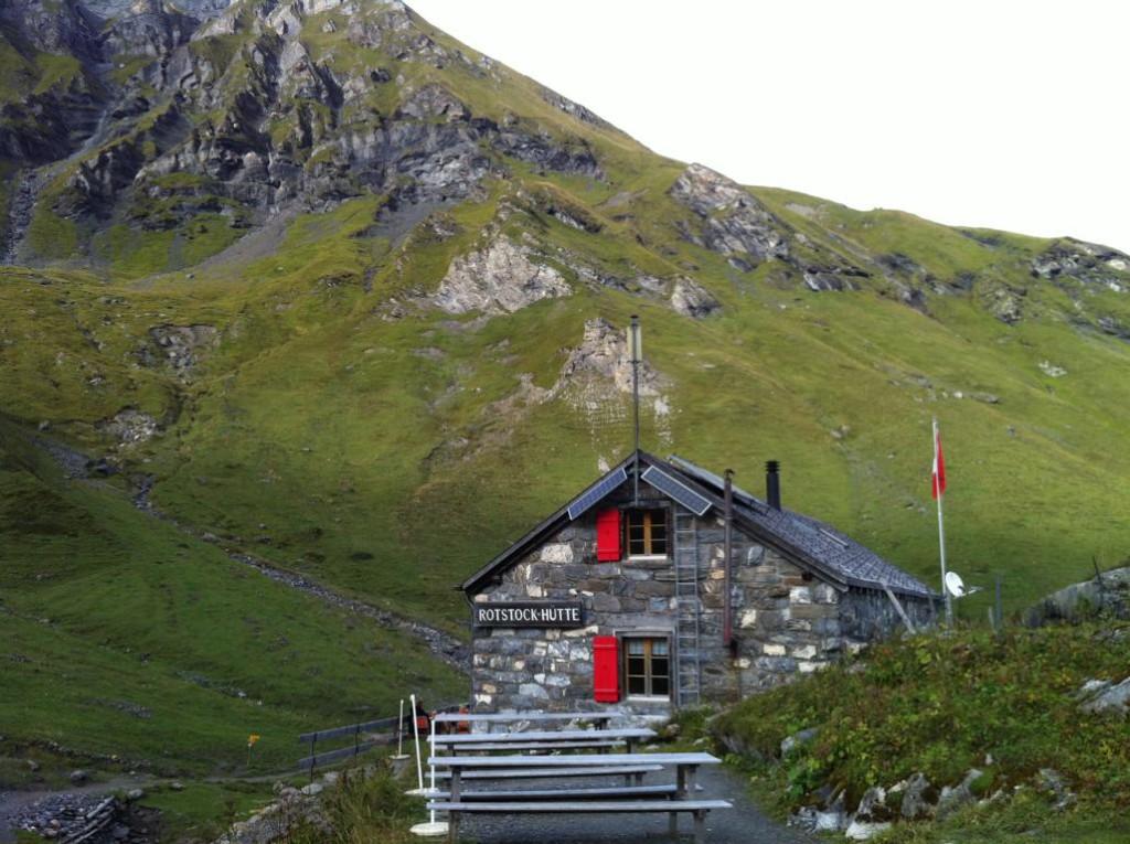 Die gemütliche Rotstockhütte auf knapp 2000m