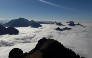Maischüpfenspitz 2'085m, Vanil d'Orseire 2'012m