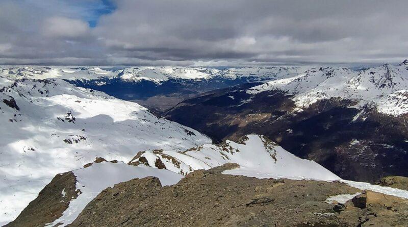 Les Monts Telliers 2'951m und La Palantse de la Cretta 2'926m