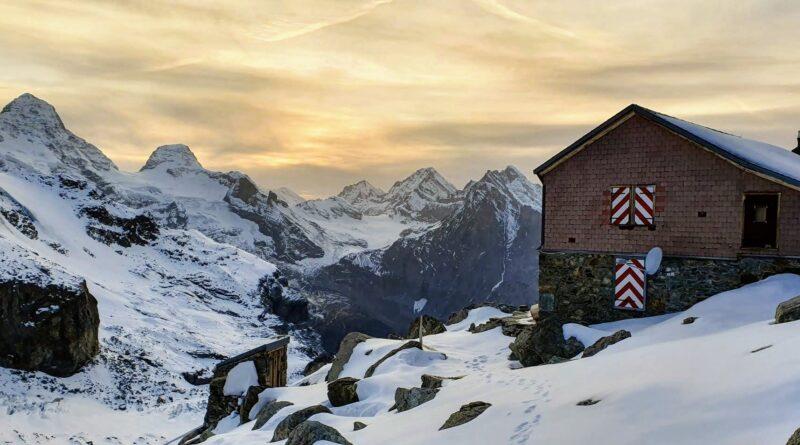 Rottalhütte und Silberhornhütte