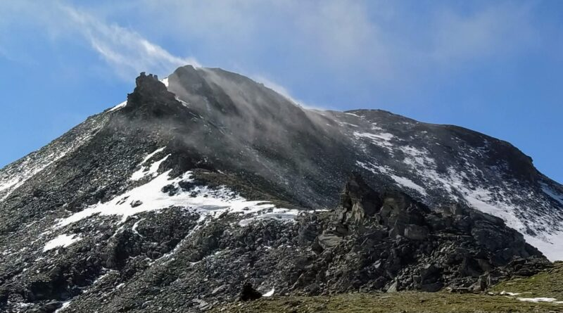 L'Omen Roso und Frilihorn 3'144 m