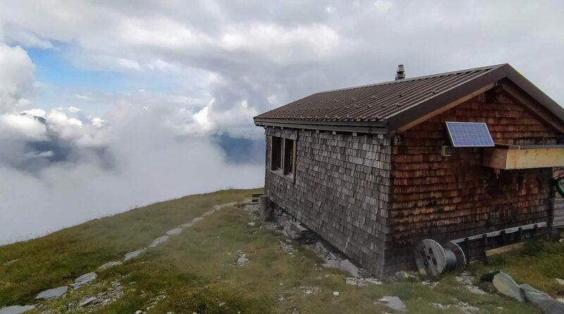 Mit den Teletubbies auf die Ostegghütte, 2'317m